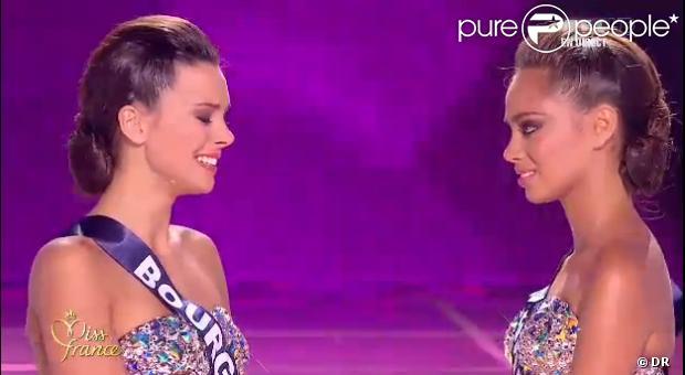 Miss Bourgogne lors de l'élection de Miss France 2013 le samedi 8 décembre 2012 sur TF1 en direct de Limoges