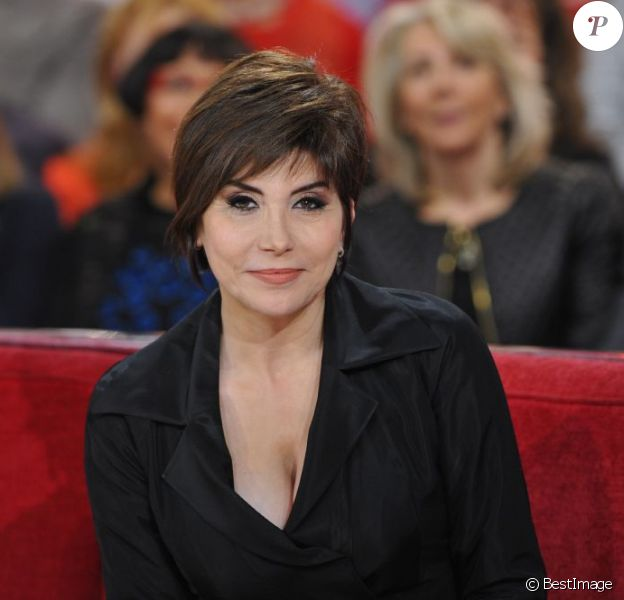 Liane Foly lors de l'enregistrement de l'émission Vivement Dimanche à Paris le 12 décembre 2012.