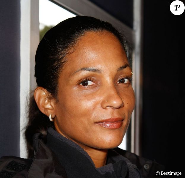 Christine Arron à Paris le 7 Octobre 2012.