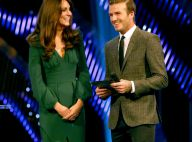 Kate Middleton sublime avec David Beckham pour le roi Wiggins et la divine Ennis