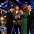 Lord Sebastian Coe a été récompensé pour l'ensemble de son oeuvre. Kate Middleton, duchesse de Cambridge, prenait part dimanche 16 décembre 2012 à la cérémonie des BBC Sports Personality of the Year Awards 2012 à l'ExCel Arena de Londres. Son premier engagement depuis l'annonce de sa grossesse et son hospitalisation.