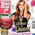 Couverture de Télé Star avec Céline Dion, en kiosques depuis le 17 décembre 2012.