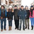 La neige omniprésente dans la station des Arcs avec le jury, au beau milieu du Festival du cinéma européen aux Arcs, le 15 décembre 2012.