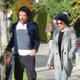 Exclusif - Gwen Stefani et Gavin Rossdale quittent le cabinet du docteur Adrien Survol Rivin à l'issue de leur séance de thérapie de couple. Los Angeles, le 17 décembre 2012.