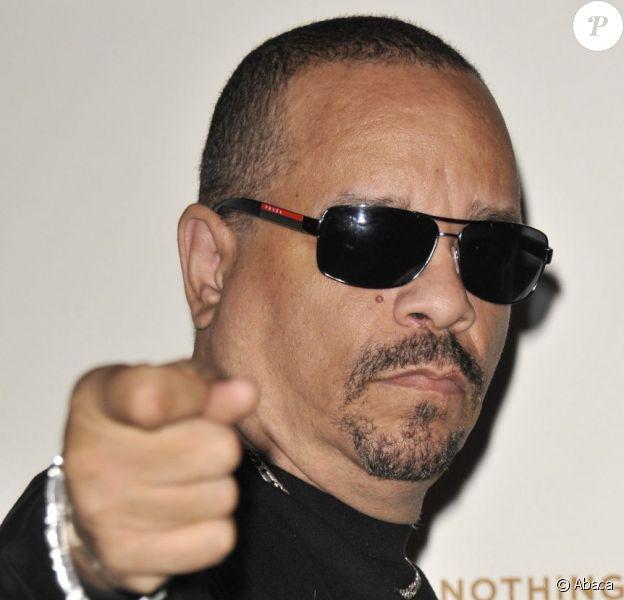 Ice T lors de la projection de son documentaire Something from Nothing : The Art Of Rap à l'Hammersmith Apollo. Londres, le 19 juillet 2012.