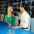 Jennie Garth et Luke Perry le 23 août 2012 à Los Angeles. Toujours aussi complices.