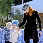 Marcia Cross : Patinage et rires avec ses filles, c'est le fun avant Noël !