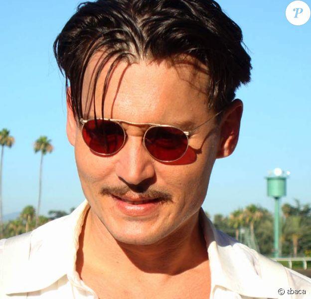 Johnny Depp, sur le tournage de Public Enemies