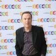 Julien Lepers lors de la conférence de presse de rentrée de France Télévisions le 28 août 2012 à Paris.
