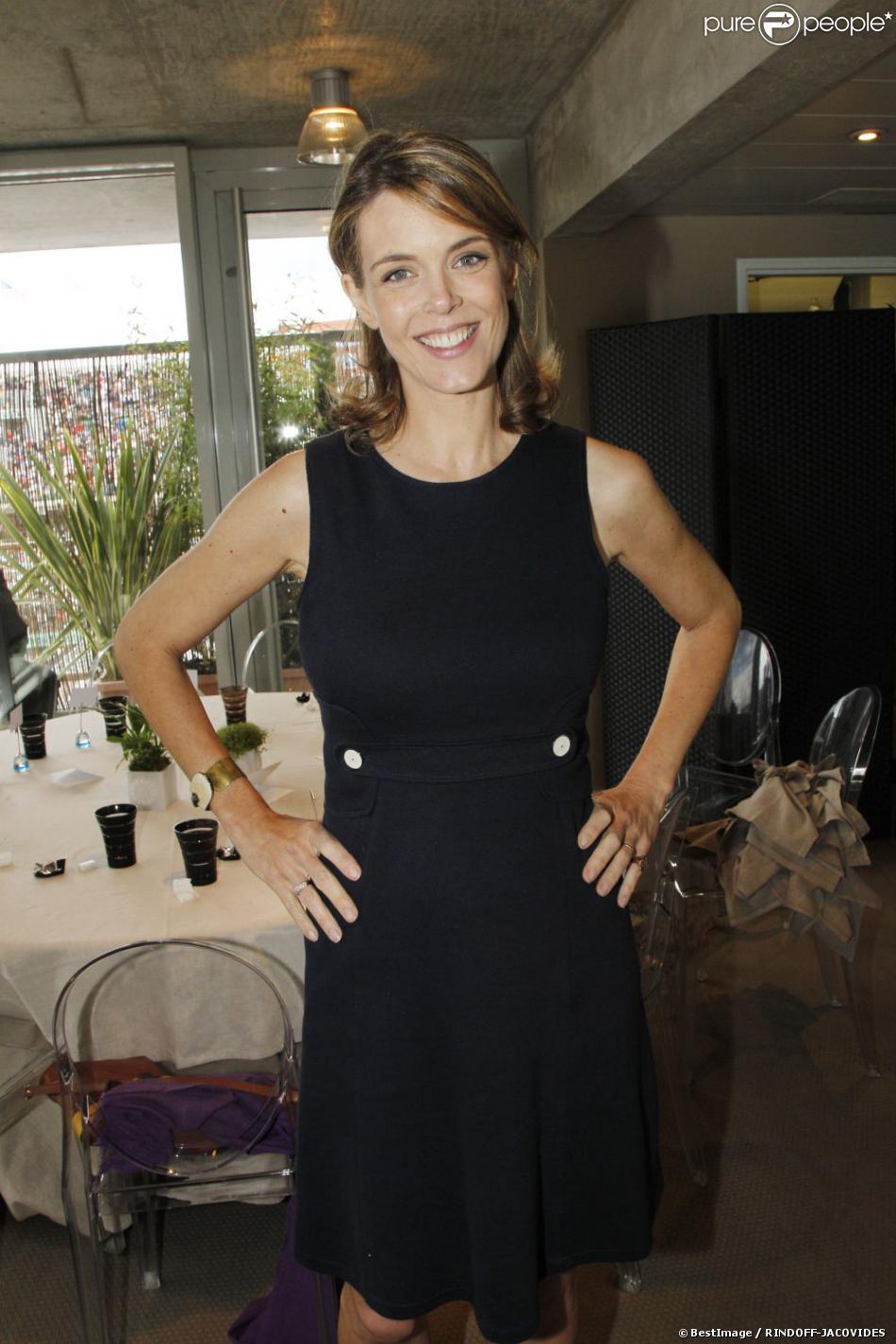 Julie Andrieu en juin 2012à Paris