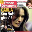 France Dimanche en kiosques le 28 décembre 2012