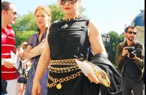 PHOTOS : Patricia Arquette, un défilé à elle toute seule...?