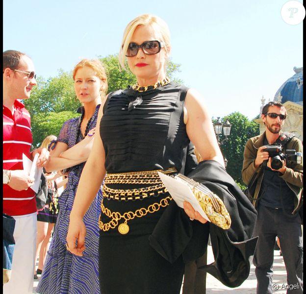 Patricia Arquette au défilé Chanel