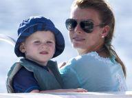 Coleen Rooney : Enceinte, en formes et épanouie avec son fils Kai sous le soleil