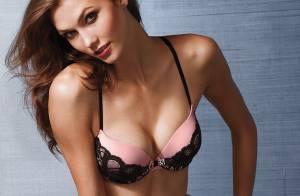 Karlie Kloss envoûtante : Le sublime top en bikini et lingerie fine...