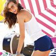 """Karlie Kloss pour la collection de maillots de bain """"Swin 2013"""" de la marque Victoria's Secret."""
