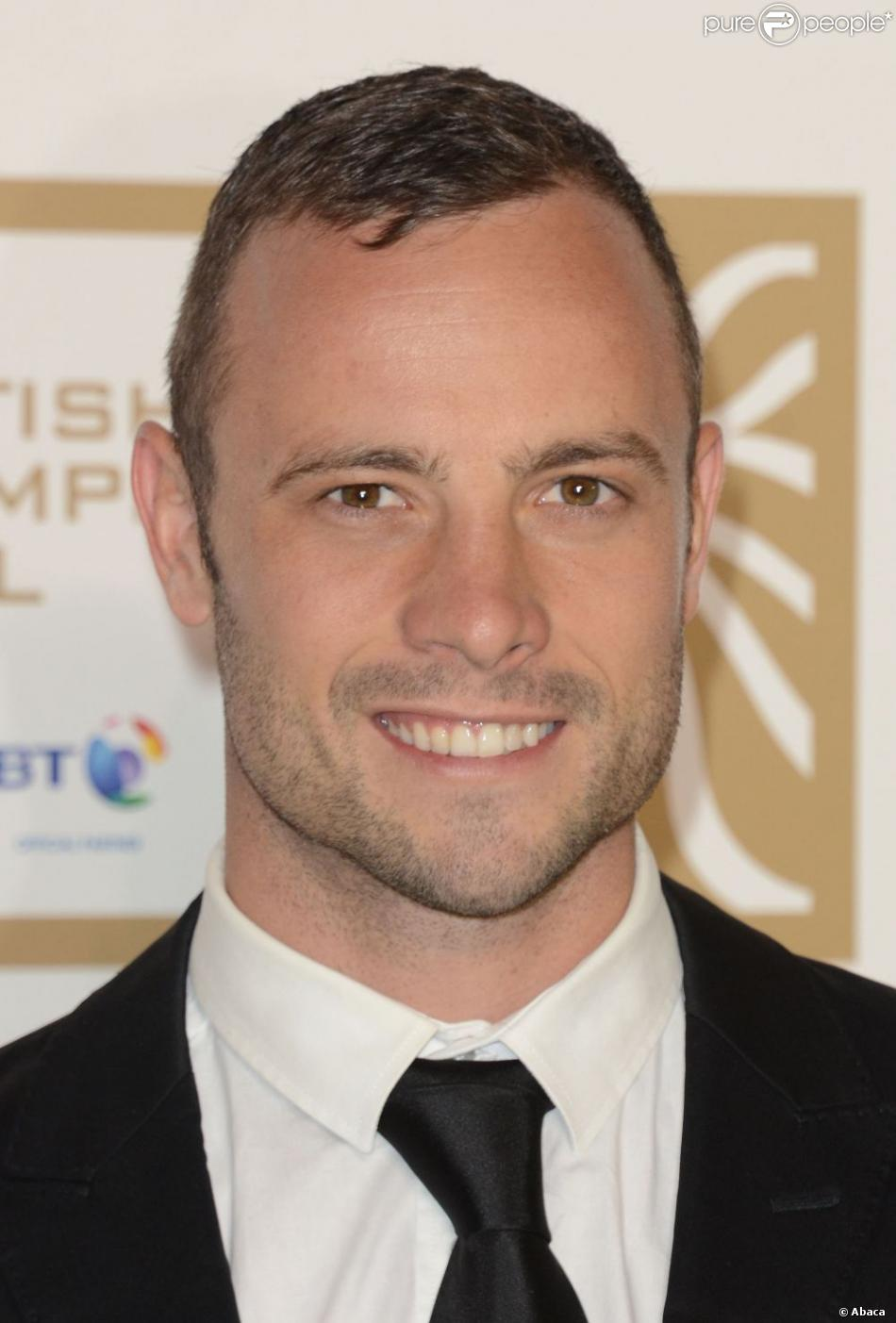 Oscar Pistorius au BT British Olympic Ball 2012 au Grosvenor House Hotel de Londres, le 30 novembre 2012