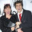 Corinne et Gilles Benizio, alias Shirley et Dino posent au 51e Gala de l'Union Des Artistes au Cirque Alexis Gruss à Paris, le 12 novembre 2012.