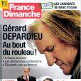 Couverture de France Dimanche, en kisoques depuis le 11 janvier 2013.