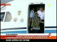 VIDEO + PHOTOS : Ingrid Betancourt et les autres prisonniers libérés viennent d'arriver à Bogota ! (réactualisé)