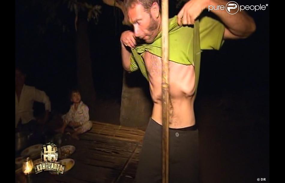 Bertrand dans Koh Lanta - La Revanche des héros le vendredi 4 mai 2012 sur TF1