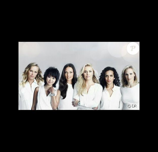 Caroline Wozniacki, Yuja Wang, Ana Ivanovic, Lindsey Vonn, Anoushka Shankar et Zara Phillips, ambassadrices de charmes de Rolex