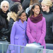 Michelle Obama : Les looks osés et colorés de ses filles Sasha et Malia