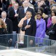 Sasha et Malia Obama, remarquées par leurs looks le 21 janvier 2013 à la cérémonie d'investiture de leur papa Barack Obama à Washington