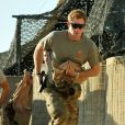 Le prince Harry, Captain Wales dans l'armée britannique, à Camp Bastion en Afghanistan dans la province du Helmand, le 3 novembre 2012. Photo diffusée à la fin de sa mission de plus de quatre mois, le 22 janvier 2012.