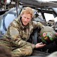 Le prince Harry, Captain Wales dans l'armée britannique, à Camp Bastion en Afghanistan dans la province du Helmand, le 12 décembre 2012. Photo diffusée à la fin de sa mission, le 22 janvier 2012.
