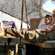 Le prince Harry, Captain Wales dans l'armée britannique, à Camp Bastion en Afghanistan dans la province du Helmand, le 2 novembre 2012. Photo diffusée à la fin de sa mission, le 22 janvier 2012.