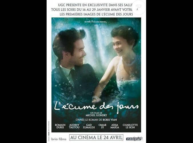 Affiche officielle du film l 39 ecume des jours - L ecume des jour film ...