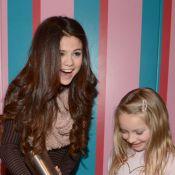 Selena Gomez : Quand elle ne boude pas, elle s'éclate avec de la crème chantilly