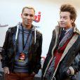 Daniel et Sidoine - Dans le cadre des NRJ Music Awards, la FNAC de Cannes a accueilli la célèbre station de radio pour une émission en direct a Cannes le 25 janvier 2013.