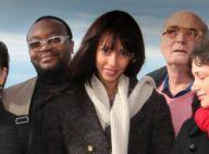 Sonia Rolland : Superbe jurée les cheveux au vent sur la plage à Biarritz