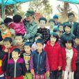 Twitter de Laeticia Hallyday - Retrouvailles avec les enfants de l'orphelinat de #BacGiang #emotion #LaBonneEtoile