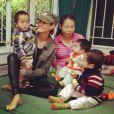 Twitter de Laeticia Hallyday - Orphelinat de Ba-Vi #Vietnam #LaBonneEtoile
