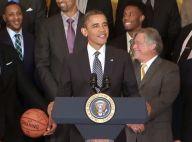 Barack Obama : Humour et style pour une rencontre avec un LeBron James intimidé
