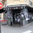 L'Acajou, le restaurant de Jean Imbert à Paris, le 11 avril 2012.