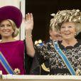 La princesse Maxima et la reine Beatrix des Pays-Bas le 18 septembre 2012.