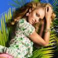photographiée par Inez et Vinoodh pour la campagne printemps-été 2013 de Juicy Couture.