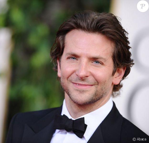 Bradley Cooper lors des Golden Globes le 13 janvier 2013