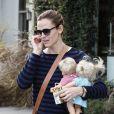 Jennifer Garner de sortie à Los Angeles, le 1er Février 2013.