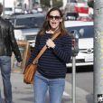 L'actrice Jennifer Garner de sortie à Los Angeles, le 1er Février 2013.