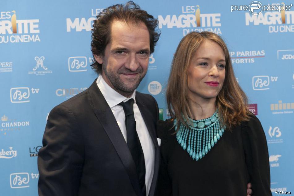 St phane de groodt et sa compagne aux magritte du cinema bruxelles le 2 f vrier 2013 - Stephane marie et sa compagne ...