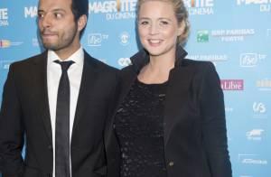Virginie Efira : Très enceinte et amoureuse pour Emilie Dequenne aux Magritte