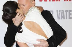 Bruce Willis, follement amoureux : Son baiser fougueux à sa femme Emma