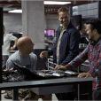 Vin Diesel et Paul Walker sur le tournage de Fast & Furious 6 avec le réalisateur Justin Lin.
