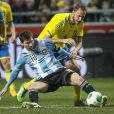 Lionel Messi  lors du match amical entre la Suède et l'Argentine le 6 février 2013 à la Friends Arena de Solna (3-2 pour l'Argentine)