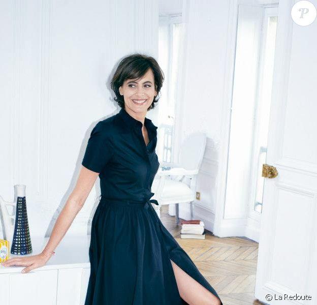Ines De La Fressange Styliste Pour La Redoute Elle Propose Une Mode Relax Purepeople